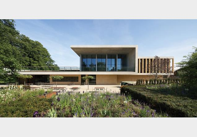 Sainsbury Laboratory at the University of Cambridge.